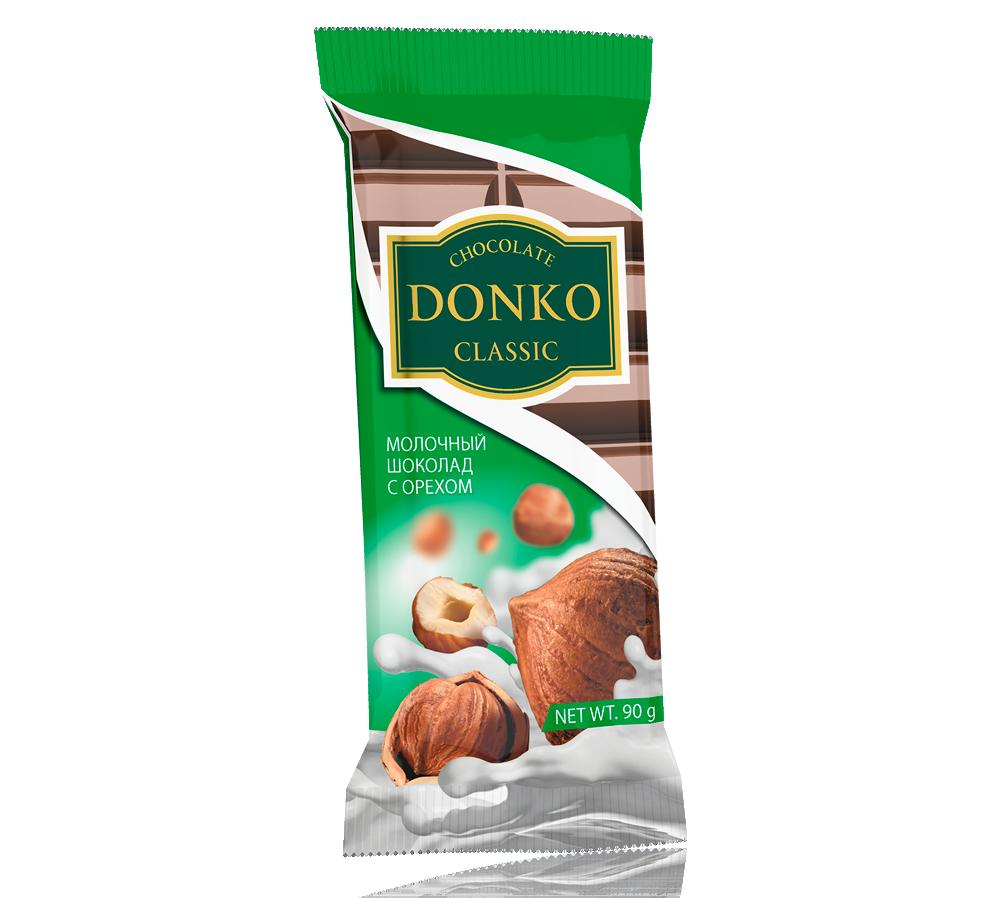 «Donko classic» молочный с орехом»
